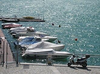 Porlezza - Image: Little port of Porlezza