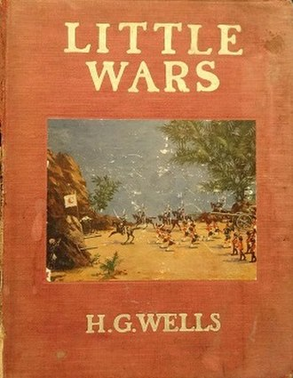 H. G. Wells bibliography - Cover of Little Wars (1913)