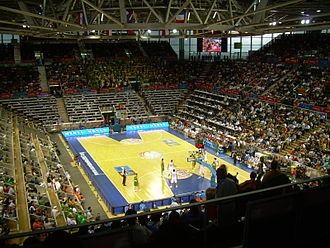EuroBasket 2007 - Match between Lithuania and Italy in the Madrid Arena