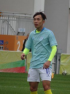 Liu Pui Fung Chinese association football player
