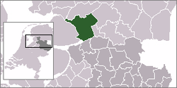 Location of Steenwijkerland