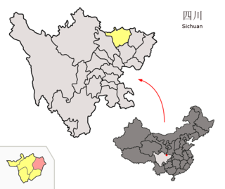 Wangcang County County in Sichuan, Peoples Republic of China