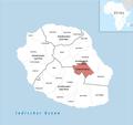Locator map of La Plaine-des-Palmistes 2018.png
