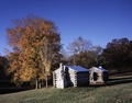 Log huts, Fort Donelson, Dover, Tennessee LCCN2011630671.tif