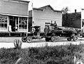 Logging truck outside of Iver Botten's general store, Silvana, Washington, ca 1915 (WASTATE 221).jpeg