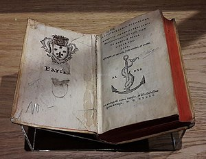 Paulus Manutius - Logio Le epistole famig. di Cicerone