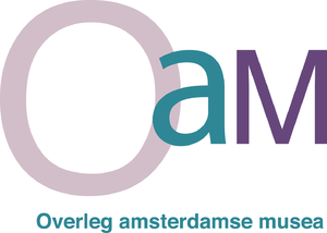 Official Museums of Amsterdam - Image: Logo Oa M RU
