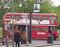 London General Routemaster route 14 Putney Heath terminus, 22 May 2005 (2).jpg