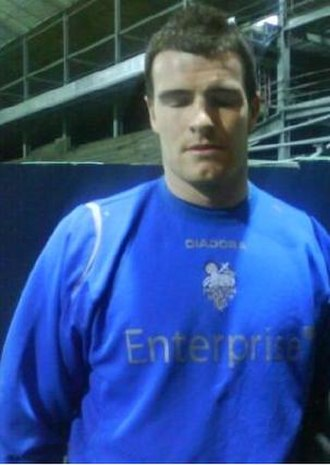 Andy Lonergan - Lonergan as a Preston North End player in 2010