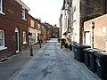 Looking into Bell Row onto Hitchin Street, Baldock - geograph.org.uk - 2532866.jpg