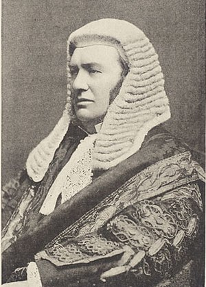 Master of the Rolls - Sir Nathaniel Lindley, who made key judgments in a variety of important cases and was the last Serjeant-at-Law appointed, the last to sit as a judge and the last surviving.