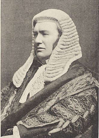 Serjeant-at-law - Lord Lindley, the last English Serjeant-at-Law