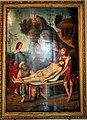 Lorenzo costa e bottega, sepoltura di gesù cristo, 1500-06, dall'annunziata 02.jpg