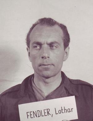 Lothar Fendler - Lothar Fendler at the ''Einsatzgruppen'' Trial