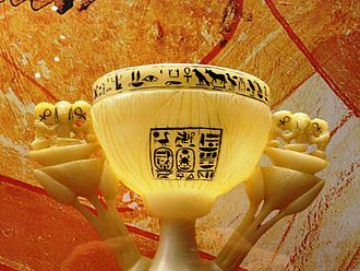 Lotus chalice - Image: Lotoskelch (JE67465) Replikat