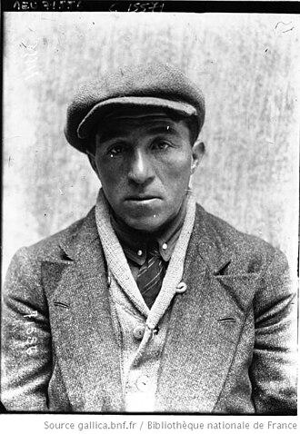 Louis Heusghem - Image: Louis Heusghem Paris Roubaix 1919