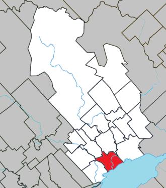 Louiseville - Image: Louiseville Quebec location diagram