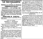 Louisiana French 19th century document 2