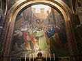 Lourdes église Rosaire mosaïques Chemin de croix.JPG