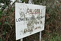 Low Flying Warning Sign Kingston Russell - geograph.org.uk - 1123109.jpg