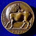 Lucania (southern Italy), Ionian colony Siris, Tetradrachm about 520 B.C. Original creation by Carl Wilhelm Becker.Cu, obverse.jpg