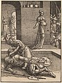 Lucas van Leyden, Jael Killing Sisera, 1516-1519, NGA 8624.jpg