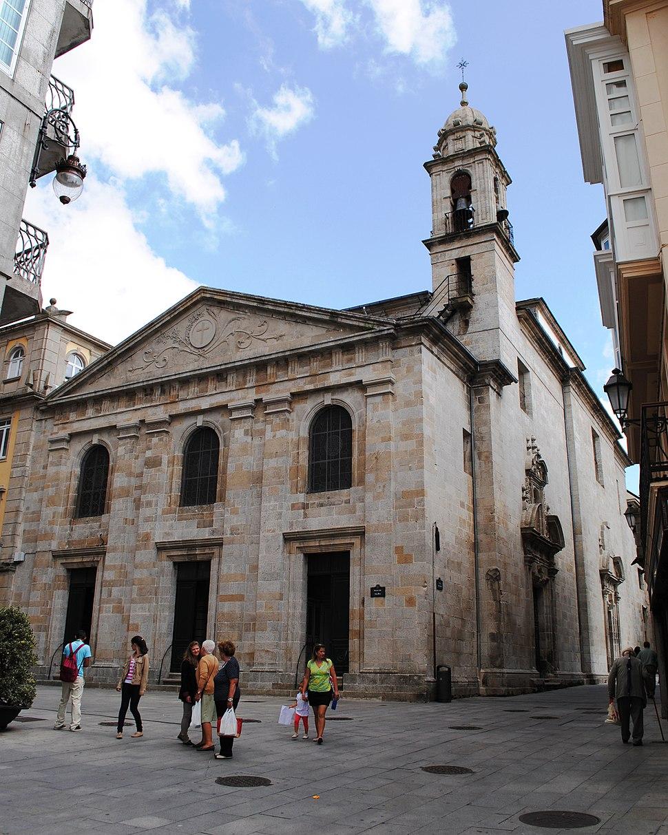 Lugo, Igrexa de Santiago A Nova