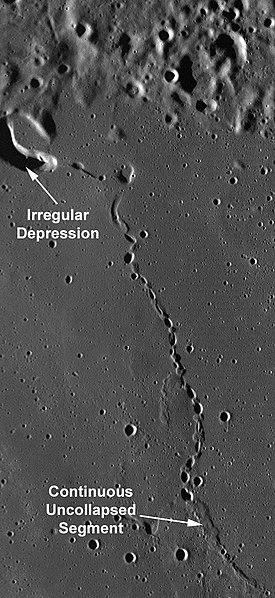 lunar lava tube
