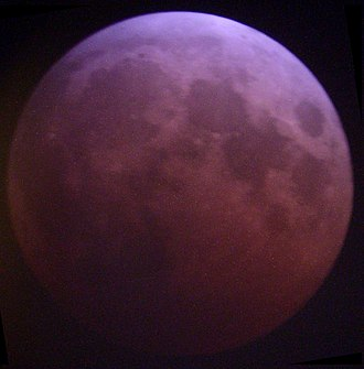 Tetrad (astronomy) - Image: Lunar eclipse May 2003 TLR75
