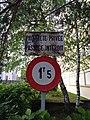Lyon 8e - Panneaux propriété privée et 1,5 t max rue Colette (mai 2019).jpg