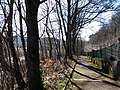 Lyon 9e - Montée de la Sauvagère, descente et voie de chemin de fer.jpg