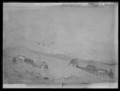 Mögeltönderhus och Mögeltönder kyrkby i Schleswig-Holstein med omgivning. Oljemålning på duk - Skoklosters slott - 17370.tif