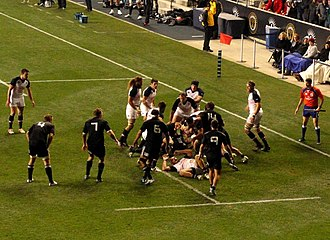 2013 Māori All Blacks tour of North America - Action at PPL Park against the United States.