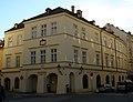 Měšťanský dům U Tří zlatých lvů (Staré Město), Praha 1, Uhelný trh 1, Staré Město.JPG