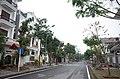Một đoạn đường có các biệt thự khu biệt thự Đỉnh Long, thành phố Hải Dương, tỉnh Hải Dương.jpg
