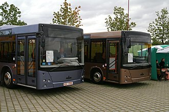 Minsk Automobile Plant - MAZ-203 and MAZ-206 buses