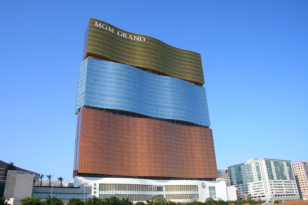 MGM Grand Macau. Source: Wikimedia Commons