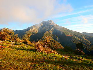 Peloritani mountain range