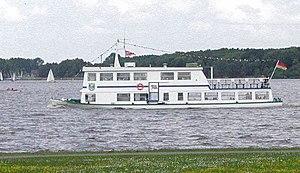 Fahrgastschiff MS Ammerland der Weißen Flotte ...