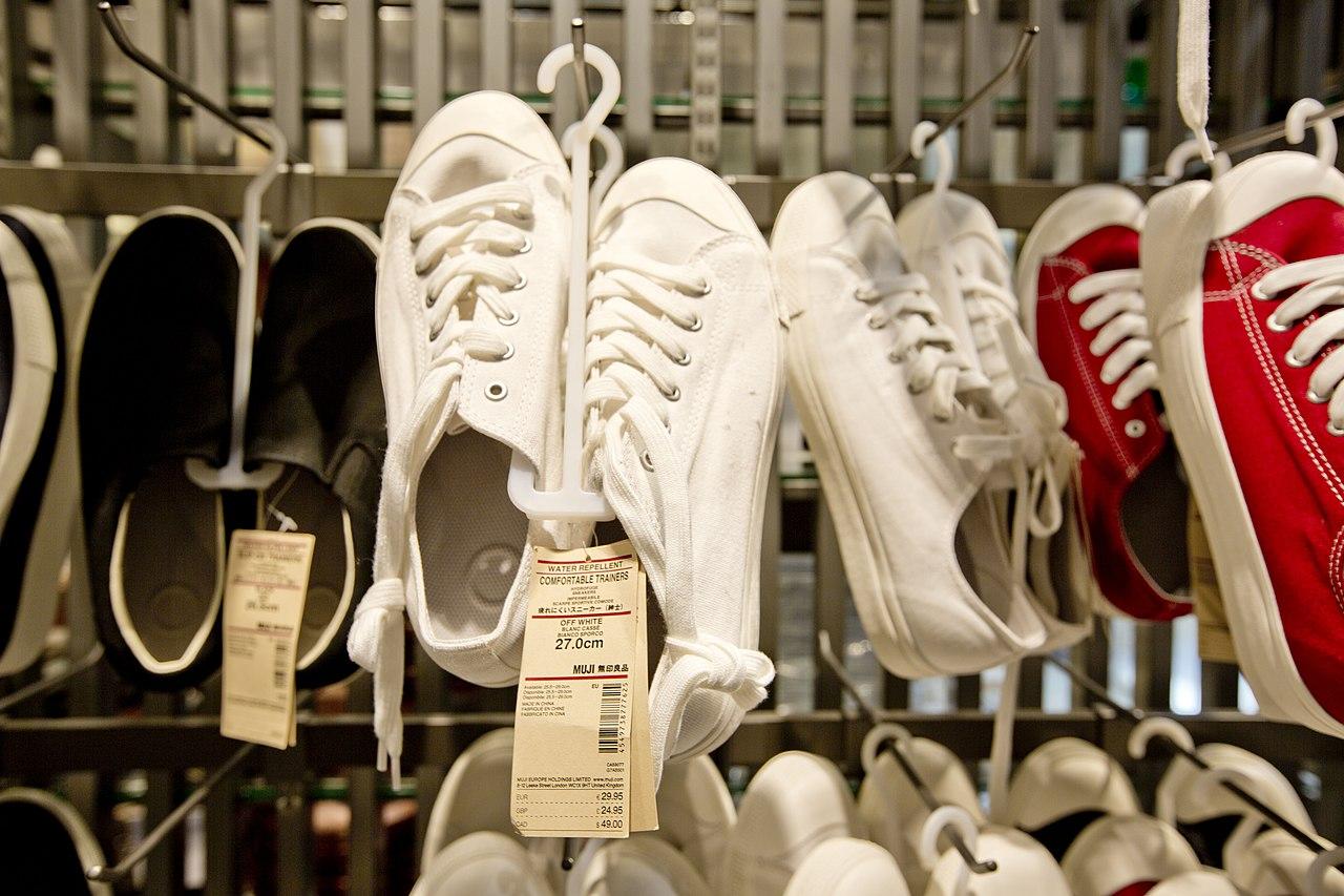 File:MUJI shoes.jpg - Wikimedia Commons