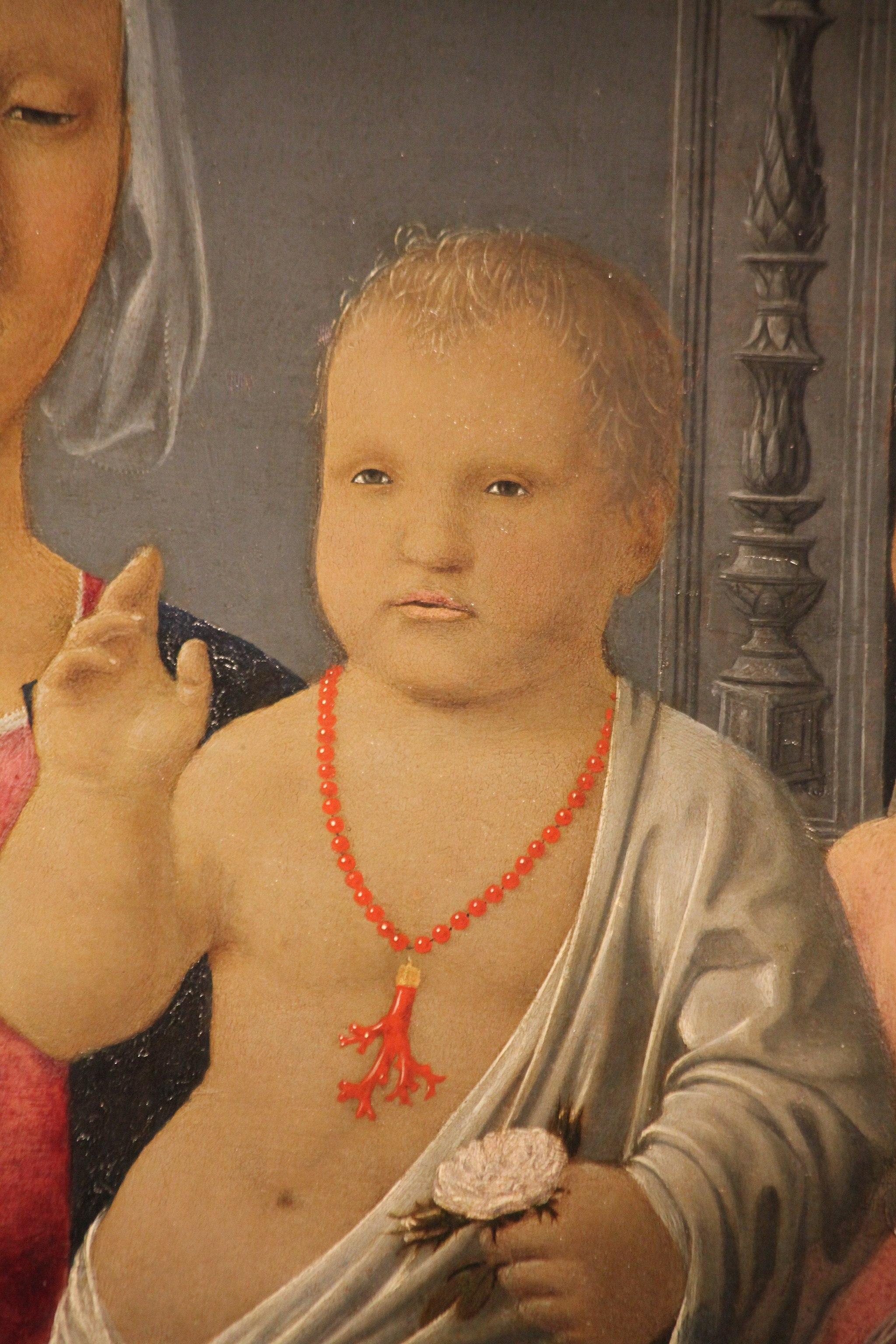 Madonna di Senigallia di Piero della Francesca, 1470-85,6