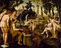 Maerten van Heemskerck - Concert of Apollo and the Muses on Mount Helicon (Chrysler Museum of Art).jpg