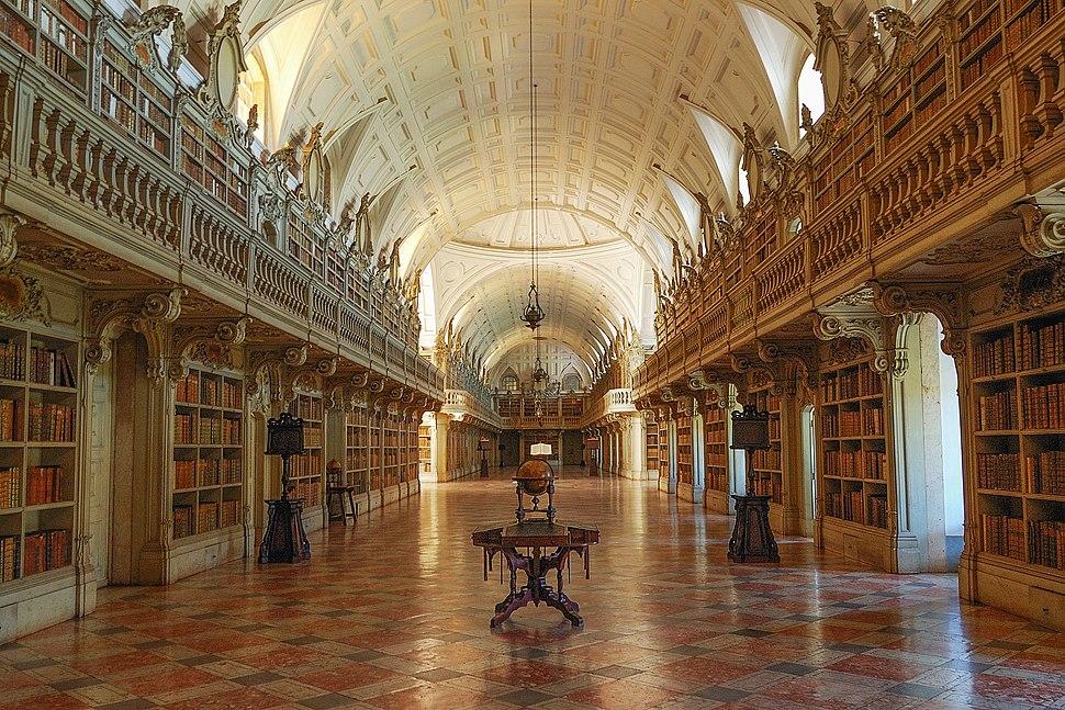 MafraPalace-Library