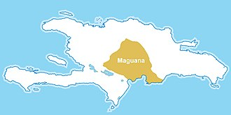 Chiefdoms of Hispaniola - cacique of Maguana