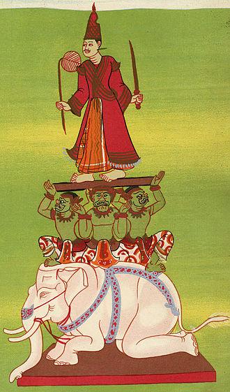 Burmese folk religion - Nat Mahagiri.