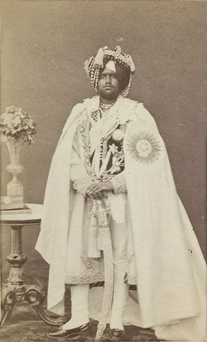 Mahendra Singh of Patiala - Mahendra Singh in 1870
