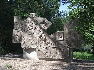 Dietrich Klagges - Memorial to the Rieseburg murdered régime opponents.