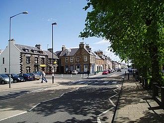 Earlston - Image: Main Street, Earlston