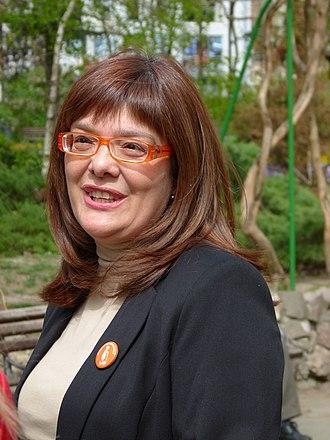 President of the National Assembly of Serbia - Image: Maja Gojković