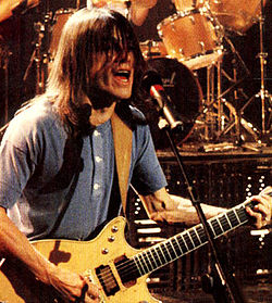 Malcolm Young nel 1990